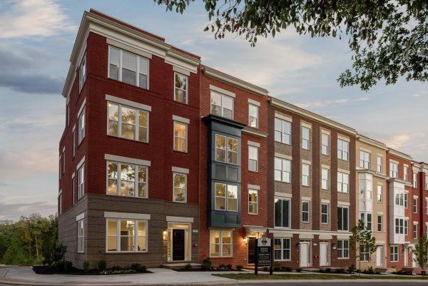 Picture of Sunrise Square townhomes building